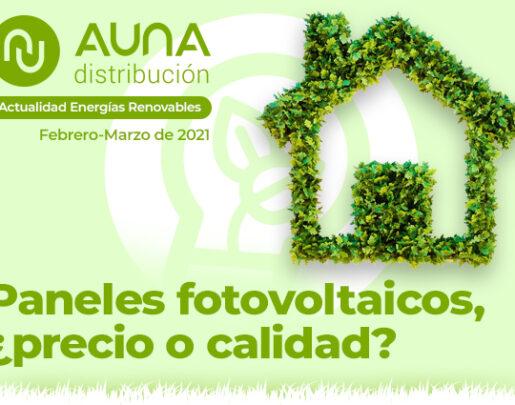 Revista bimensual sobre Energias Renovables. Auna Distribución.